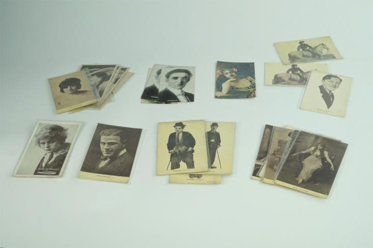 (31) ASSORTED VINTAGE PHOTO CARDS