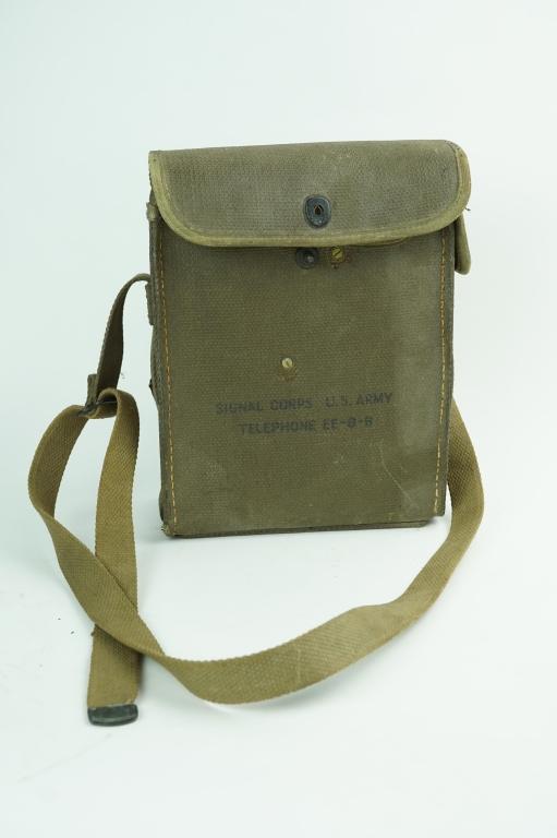 KOREAN WAR ERA EE-8 FIELD PHONE