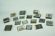ASSORTED ANTIQUE MAGIC LANTERN SLIDES