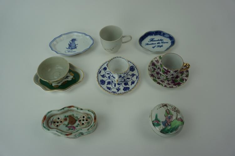 11pcs ASSORTED VINTAGE PORCELAIN