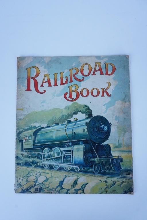 "ART ""RAILROAD BOOK"""