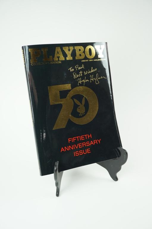 PLAYBOY 50TH ANN. EDITION MAG. 2004