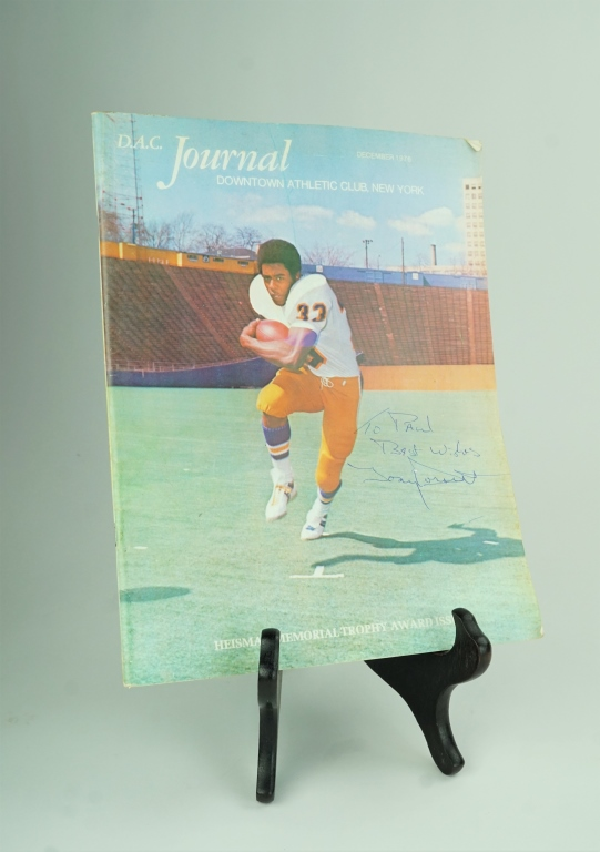 D.A.C. JOURNAL SIGNED TONY DORSETT