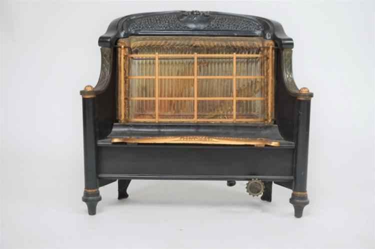 ANTIQUE HUMPHREY RADIANT FIRE GAS HEATER