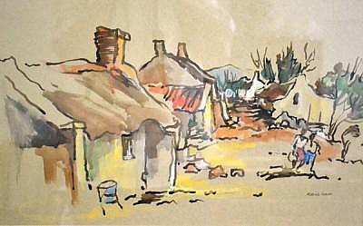South African Paintings Watercolours Drawings: