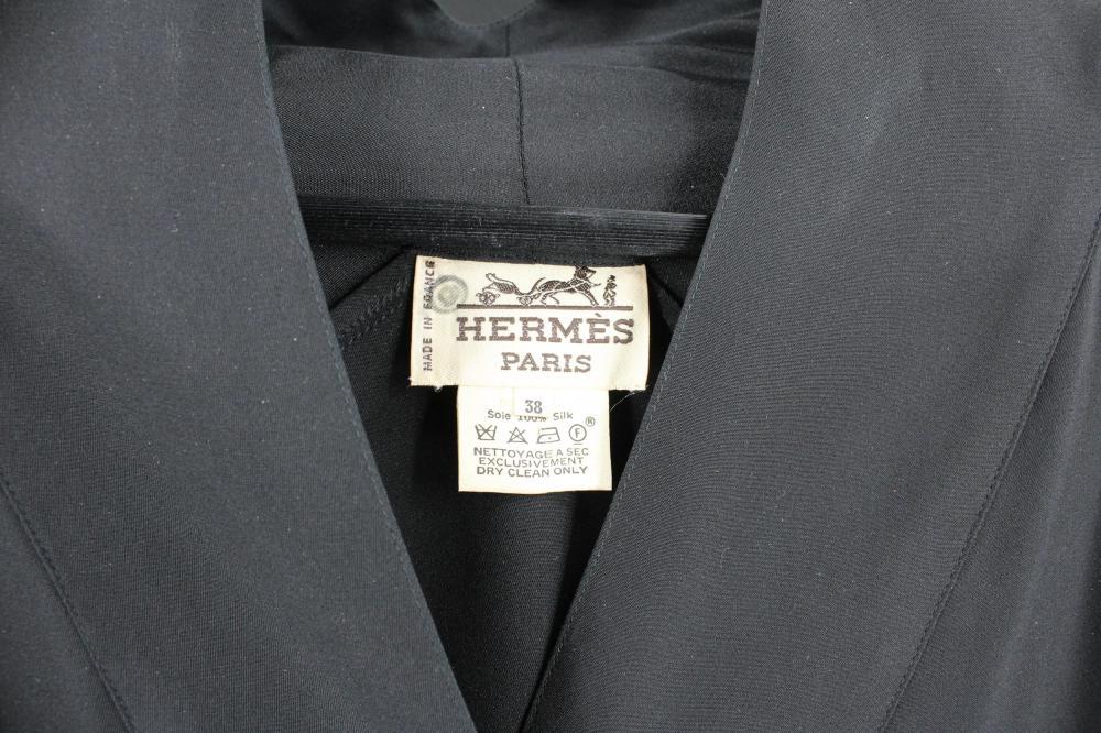 HERMES PARIS BRISE DE CHARME SILK KIMONO