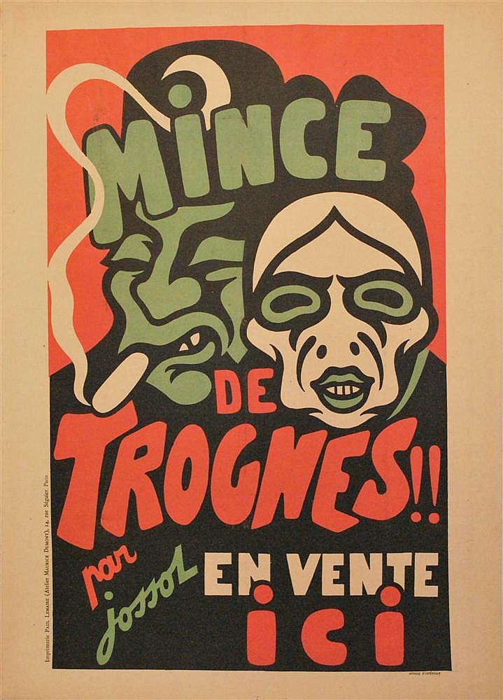 GUSTAVE-HENRI JOSSOT - Original vintage color lithograph poster