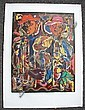 DAVID C. DRISKELL - Color silkscreen and lithograph, David Clyde Driskell, Click for value