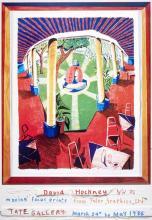 DAVID HOCKNEY - Views of Hotel Well III