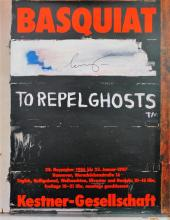 JEAN-MICHEL BASQUIAT - To Repel Ghosts