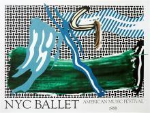 ROY LICHTENSTEIN - NYC Ballet - American Music Festival
