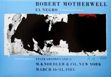 ROBERT MOTHERWELL - Black with No Way Out