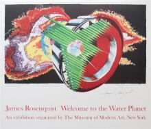 JAMES ROSENQUIST - Weclome to the Water Planet: Space Dust