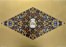 DAMIEN HIRST - The Death of God - Gold (horizontal)