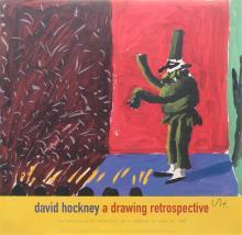 DAVID HOCKNEY - Punchinella with Applause