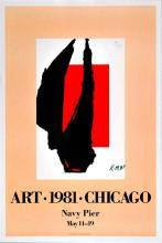 ROBERT MOTHERWELL - Art 1981 Chicago