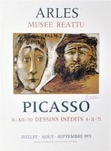 PABLO PICASSO - Picasso: Dessins Inedits 31/XII/70 - 4/II/71 (Donation Picasso)