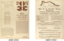 MIKHAIL LARIONOV - Bal de Grande Ourse?8 Mai 1925 [Variation #4]