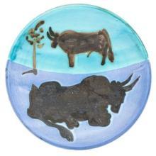 PABLO PICASSO - Ceramic: Toros