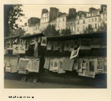 WILLIAM C. ODIORNE - Parisien Print Seller's Kiosk