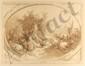 GILLES DEMARTEAU - Color crayon manner engraving, Gilles Antoine Demarteau, Click for value