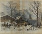 HUBERT CLERGET - Color lithograph, Hubert Clerget, Click for value