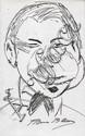FRANCIS BACON [ATTRIB] - Pen and ink drawing
