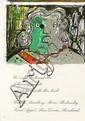 ENRICO BAJ - Color lithograph