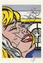 ROY LICHTENSTEIN - Color offset lithograph