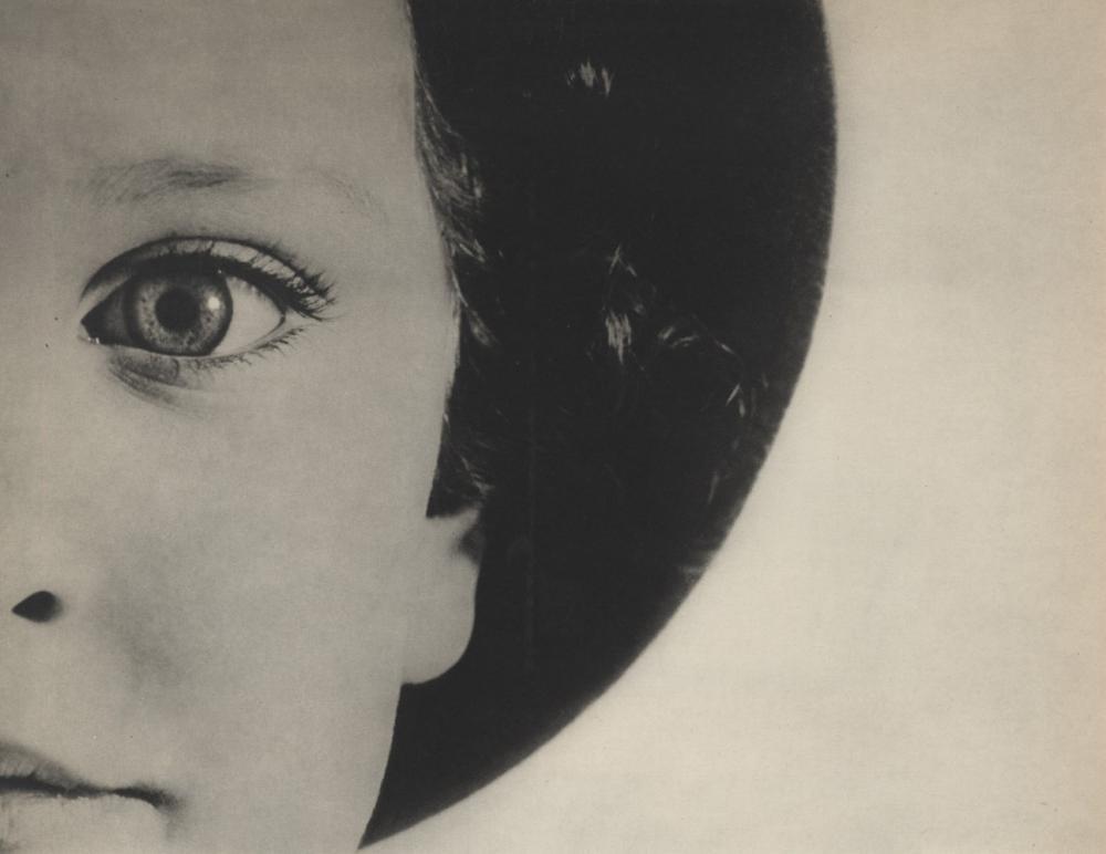 MAX BURCHARTZ - Lotte, Auge - Original vintage photogravure