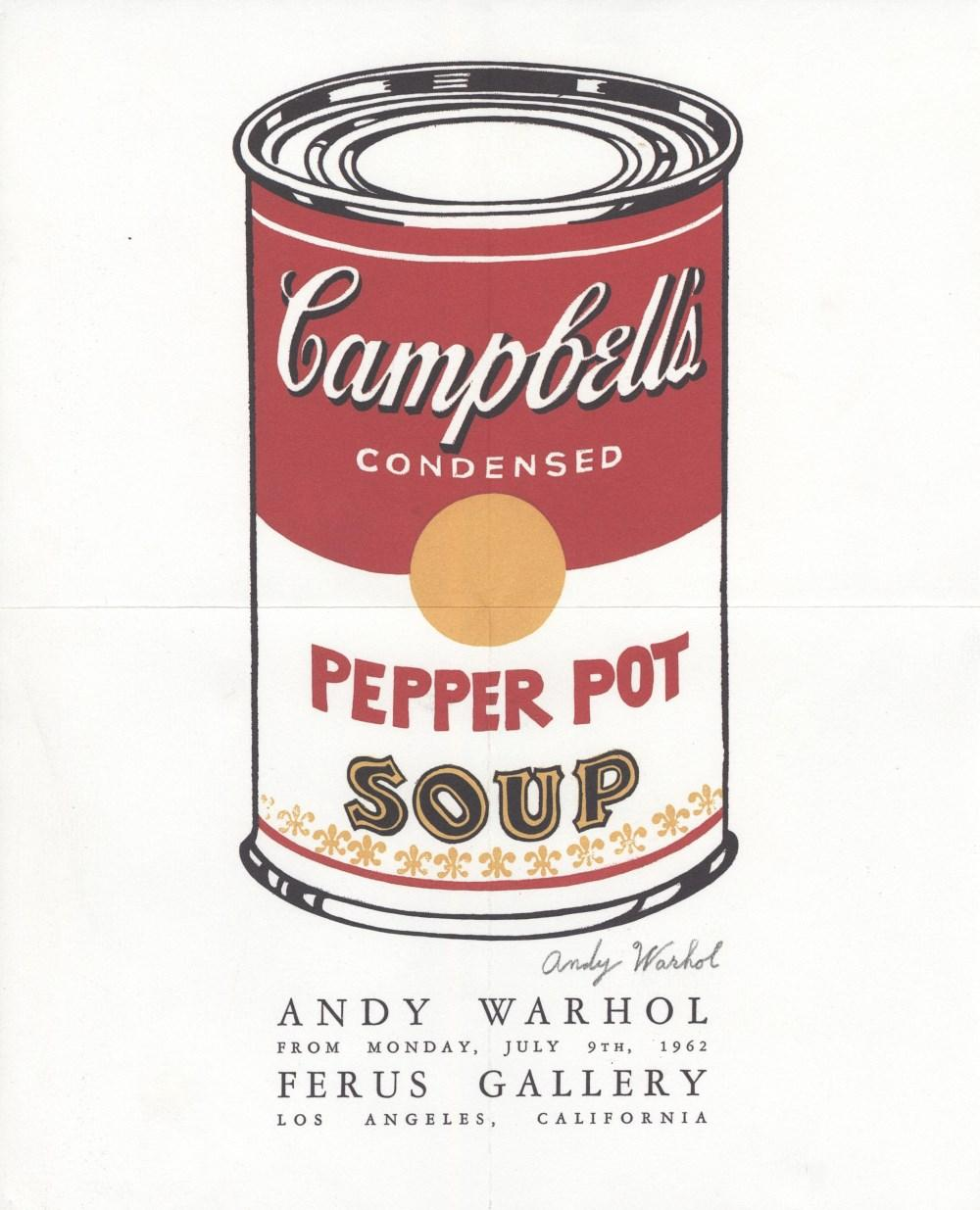 andy warhol campbell's soup - 750×922