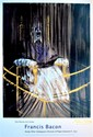 FRANCIS BACON - Original color offset lithograph poster