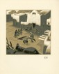 GUSTAVE BAUMANN - Color woodcut
