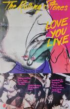 ANDY WARHOL - Love You Live