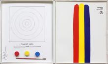 JASPER JOHNS - Technics and Creativity II - Target 1970