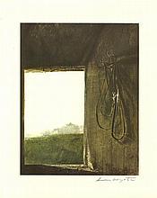 ANDREW WYETH [d'apres] - Burning Off