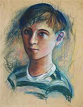 MARIE BRUNER BURT HAINES - Portrait of James