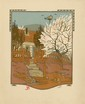 GUSTAVE BAUMANN - Original color woodcut