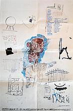 JEAN-MICHEL BASQUIAT - Color offset lithograph
