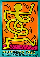 KEITH HARING - Original color silkscreen
