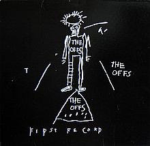 JEAN-MICHEL BASQUIAT - Original offset lithograph record jacket & record