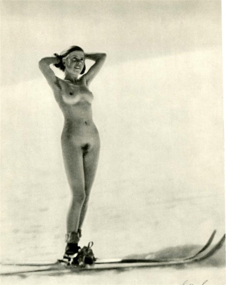 CHRISTIAN AEGERTER - Original vintage photogravure