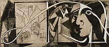 CHARLES I. OKERBLOOM, JR. - Etching with drypoint