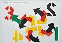 ROBERT INDIANA - Color lithograph