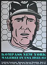 ROY LICHTENSTEIN - Color lithograph