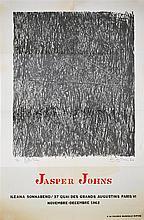 JASPER JOHNS - Color offset lithograph