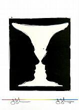JASPER JOHNS - Original color lithograph