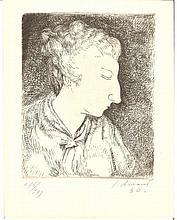 JUAN SORIANO - Original etching