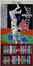 DAVID HOCKNEY - Color silkscreen