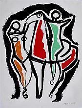 MARINO MARINI - Original color lithograph